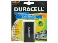 Duracell DR0987, Lithium-Ion (Li-Ion), 2000 mAh, Kamera, 7,4 V, Schwarz, 1 Stück(e)