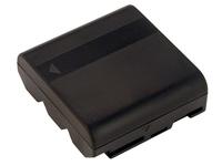 2-Power VBH0990A, Nickel-Metallhydrid (NiMH), 2500 mAh, Kamera, 3,6 V, Schwarz, 53 mm