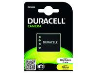 Duracell DR9664 - Batterie - Li-Ion - 630 mAh - Schwarz - für Fujifilm FinePix JV500, JX580, JX680, JZ200, JZ250, T410, T500, T5