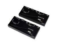 StarTech.com USB VGA KVM Verlängerung bis zu 300m - KVM extender über Cat5 UTP Netzwerkkabel 2x VGA Buchse, 4xUSB Stecker - UXGA