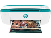 HP DeskJet 3762, Thermal Inkjet, 4800 x 1200 DPI, 60 Blätter, A4, Direkter Druck, Grün, Weiss