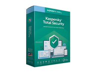 Kaspersky Total Security 2019 - Box-Pack (Upgrade) (1 Jahr) - 3 Geräte (Frustration-Free Packaging) - Code in a Box - Win, Mac,