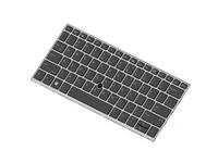 HP DualPoint - Ersatztastatur Notebook - hinterleuchtet - Dänemark
