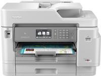 Brother MFC-J5945DW, Tintenstrahl, 4800 x 1200 DPI, 250 Blätter, A3, Direkter Druck, Grau, Weiss