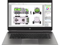 HP ZBook Studio x360 G5, Intel® CoreTM i7 der achten Generation, 2,20 GHz, 39,6 cm (15.6 Zoll), 1920 x 1080 Pixel, 8 GB, 512 GB