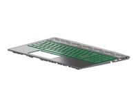 HP L25111-B71, Gehäuse-Unterteil+Tastatur, Finnisch, Schwedisch, HP, ZBook 15v G5