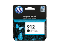 HP 912 BLACK ORIGINAL INK