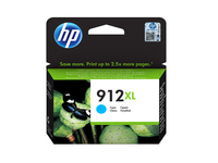 HP 912XL High Yield Cyan Org Ink Crt