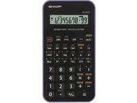 Sharp EL-501X, Tasche, Wissenschaftlicher Taschenrechner, 10 Ziffern, 2 Zeilen, Batterie/Akku, Schwarz, Violett