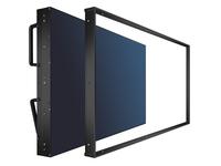 NEC Decorative overframe kit for MultiSync UN492S and UN492VS, black, Rahmen, Schwarz, NEC MultiSync UN492S, UN492VS, 1 Stück(e)