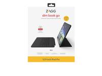 ZAGG Slim Book Go, QWERTZ, Schweiz, Apple, 12.9-inch iPad Pro, Schwarz, Multi