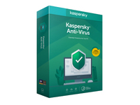 Kaspersky Anti-Virus 2020 - Box-Pack (Upgrade) (1 Jahr) - 1 PC (Frustration-Free Packaging) - Code in a Box - Win - Deutsch