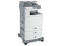 Lexmark X792dte, Laser, Farbdruck, 1200 x 1200 DPI, Farbkopieren, 1750 Blätter, A4