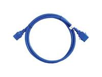 APC - Stromkabel - IEC 60320 C19 bis IEC 60320 C20 - 1.8 m - Blau