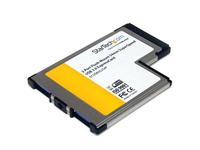 StarTech.com 2 Port USB 3.0 ExpressCard mit UASP Unterstützung - USB 3.0 54mm Schnittstellenkarte für Laptop - USB 3.0 A (Buchse