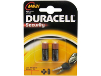 Duracell MN21-X2, Single-use battery, A23, Alkali, Zylindrische, 12 V, 2 Stück(e)