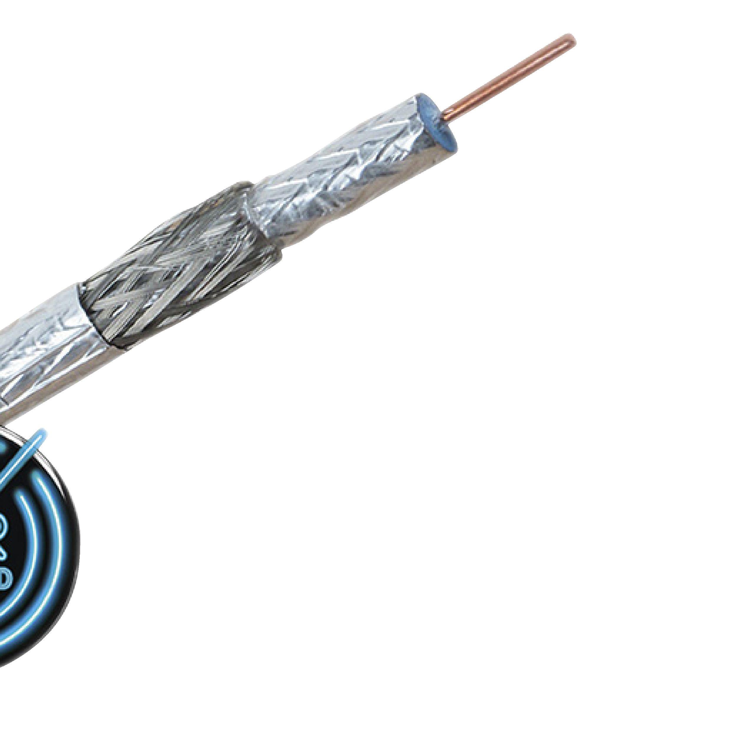 Antennenkabel auf Rolle 6.9 mm 100 m