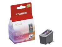 Canon CL-52 - Farbe (Light Cyan, Light Magenta, Black) - Original - Tintenbehälter - für PIXMA iP6210D, iP6220D, iP6310D, MP450